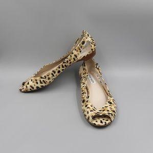 Steve Madden Spair  Leopard Open Toe Flats